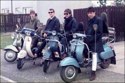Os mods e suas scooters